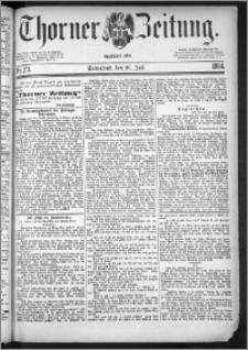 Thorner Zeitung 1884, Nro. 173