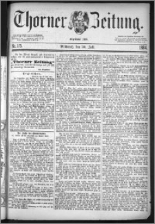 Thorner Zeitung 1884, Nro. 175