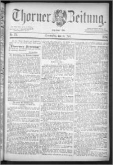 Thorner Zeitung 1884, Nro. 176
