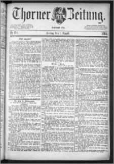 Thorner Zeitung 1884, Nro. 178