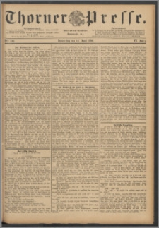 Thorner Presse 1888, Jg. VI, Nro. 136