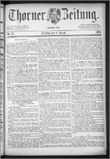 Thorner Zeitung 1884, Nro. 181