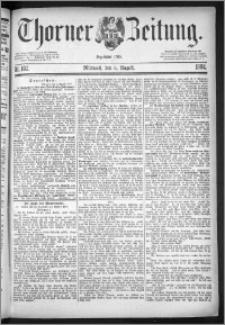Thorner Zeitung 1884, Nro. 182