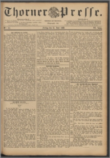 Thorner Presse 1888, Jg. VI, Nro. 137 + Beilagenwerbung