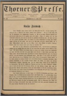 Thorner Presse 1888, Jg. VI, Nro. 138