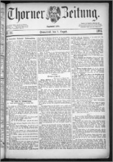 Thorner Zeitung 1884, Nro. 185
