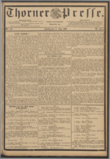 Thorner Presse 1888, Jg. VI, Nro. 139