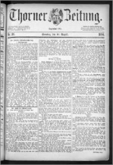 Thorner Zeitung 1884, Nro. 186