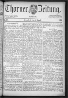 Thorner Zeitung 1884, Nro. 191