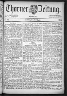 Thorner Zeitung 1884, Nro. 192