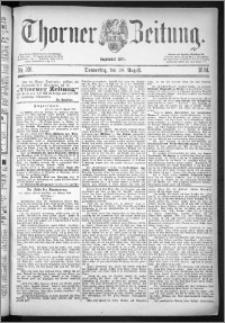 Thorner Zeitung 1884, Nro. 201