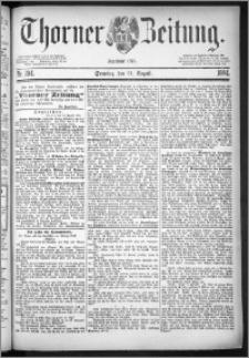 Thorner Zeitung 1884, Nro. 204