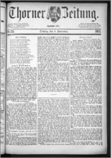 Thorner Zeitung 1884, Nro. 205