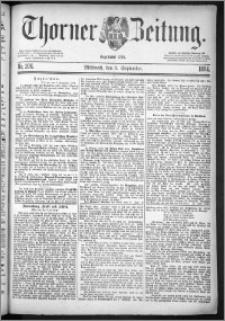 Thorner Zeitung 1884, Nro. 206