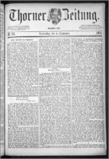 Thorner Zeitung 1884, Nro. 207