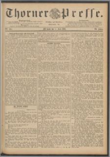 Thorner Presse 1888, Jg. VI, Nro. 154