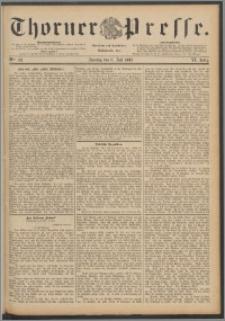 Thorner Presse 1888, Jg. VI, Nro. 158 + Beilage