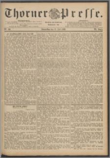 Thorner Presse 1888, Jg. VI, Nro. 161