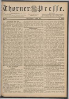 Thorner Presse 1888, Jg. VI, Nro. 182