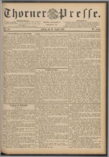 Thorner Presse 1888, Jg. VI, Nro. 186