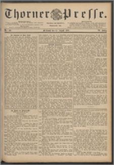 Thorner Presse 1888, Jg. VI, Nro. 190
