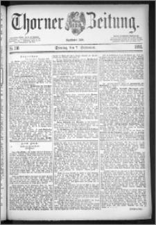 Thorner Zeitung 1884, Nro. 210
