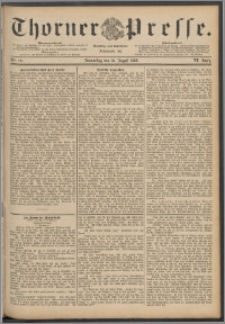 Thorner Presse 1888, Jg. VI, Nro. 191
