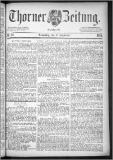 Thorner Zeitung 1884, Nro. 213