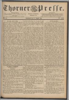 Thorner Presse 1888, Jg. VI, Nro. 193