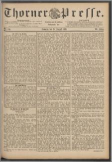 Thorner Presse 1888, Jg. VI, Nro. 194 + Beilage