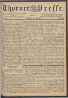 Thorner Presse 1888, Jg. VI, Nro. 195 + Extrablatt