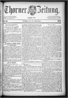 Thorner Zeitung 1884, Nro. 223