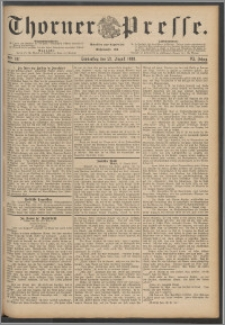 Thorner Presse 1888, Jg. VI, Nro. 197