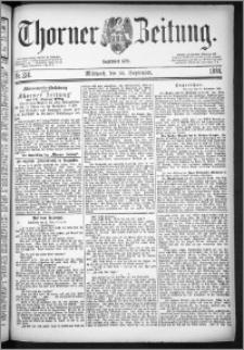 Thorner Zeitung 1884, Nro. 224