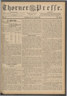 Thorner Presse 1888, Jg. VI, Nro. 199