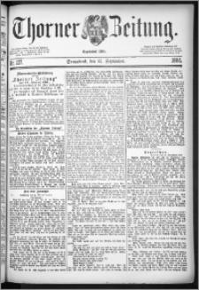 Thorner Zeitung 1884, Nro. 227