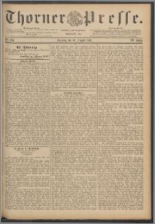 Thorner Presse 1888, Jg. VI, Nro. 200