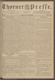 Thorner Presse 1888, Jg. VI, Nro. 201