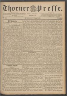 Thorner Presse 1888, Jg. VI, Nro. 202