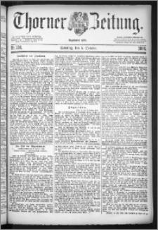 Thorner Zeitung 1884, Nro. 234 + Beilage