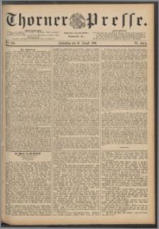 Thorner Presse 1888, Jg. VI, Nro. 203
