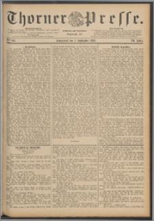 Thorner Presse 1888, Jg. VI, Nro. 205