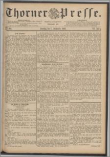 Thorner Presse 1888, Jg. VI, Nro. 206