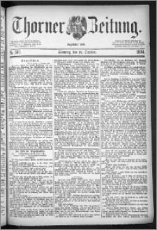 Thorner Zeitung 1884, Nro. 240 + Beilage