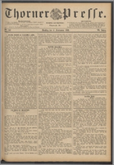 Thorner Presse 1888, Jg. VI, Nro. 207