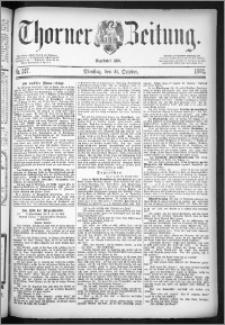 Thorner Zeitung 1884, Nro. 247