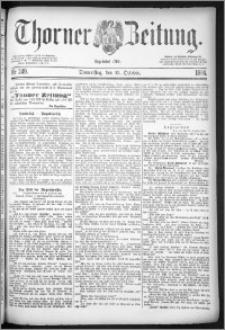 Thorner Zeitung 1884, Nro. 249
