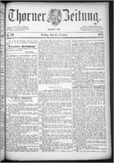 Thorner Zeitung 1884, Nro. 250