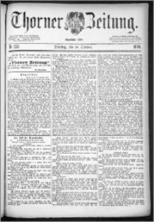 Thorner Zeitung 1884, Nro. 253