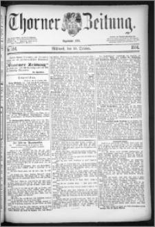 Thorner Zeitung 1884, Nro. 254
